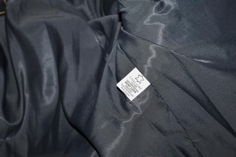 Giubbotto giacca pelle moto custom byker milano tg