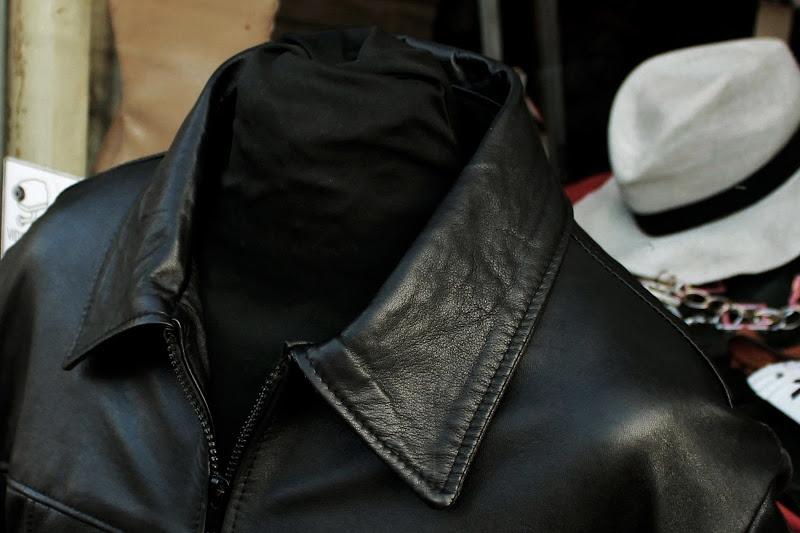 Giubbotto giacca pelle milano uomo modello Fonzie