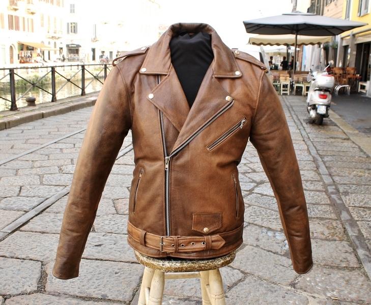 Guendj perfecto leather jacket metal rock aged bro